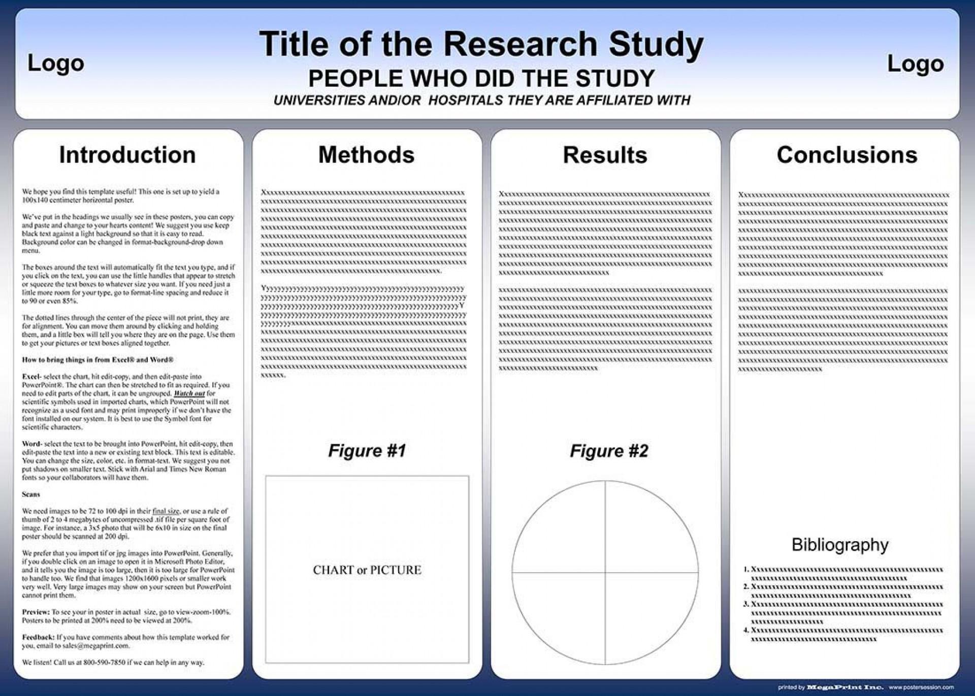 004 Surprising Scientific Poster Design Template Free Download Example 1920