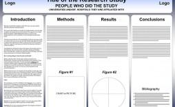 004 Surprising Scientific Poster Design Template Free Download Example