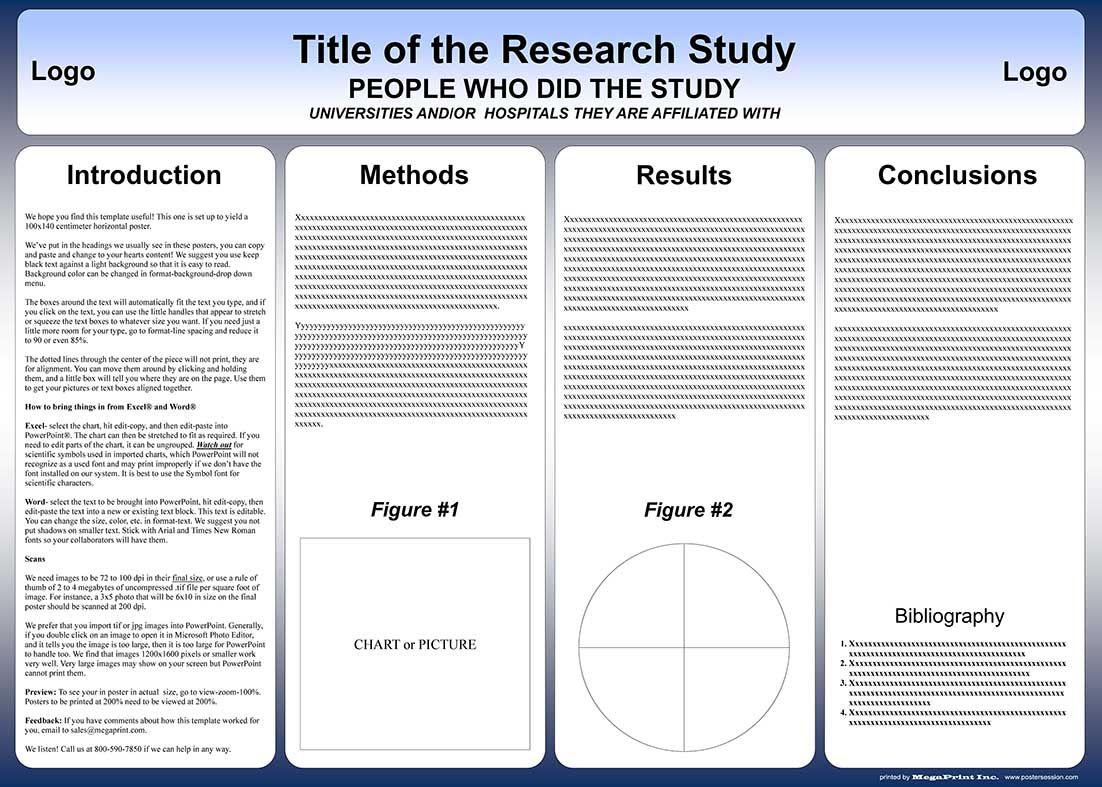 004 Surprising Scientific Poster Design Template Free Download Example Full