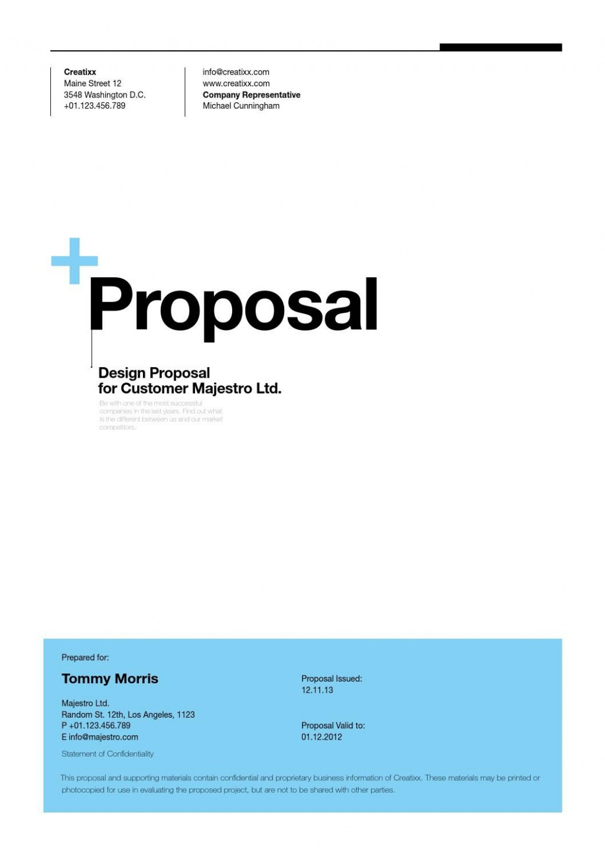 004 Surprising Web Development Proposal Template Free Concept Large