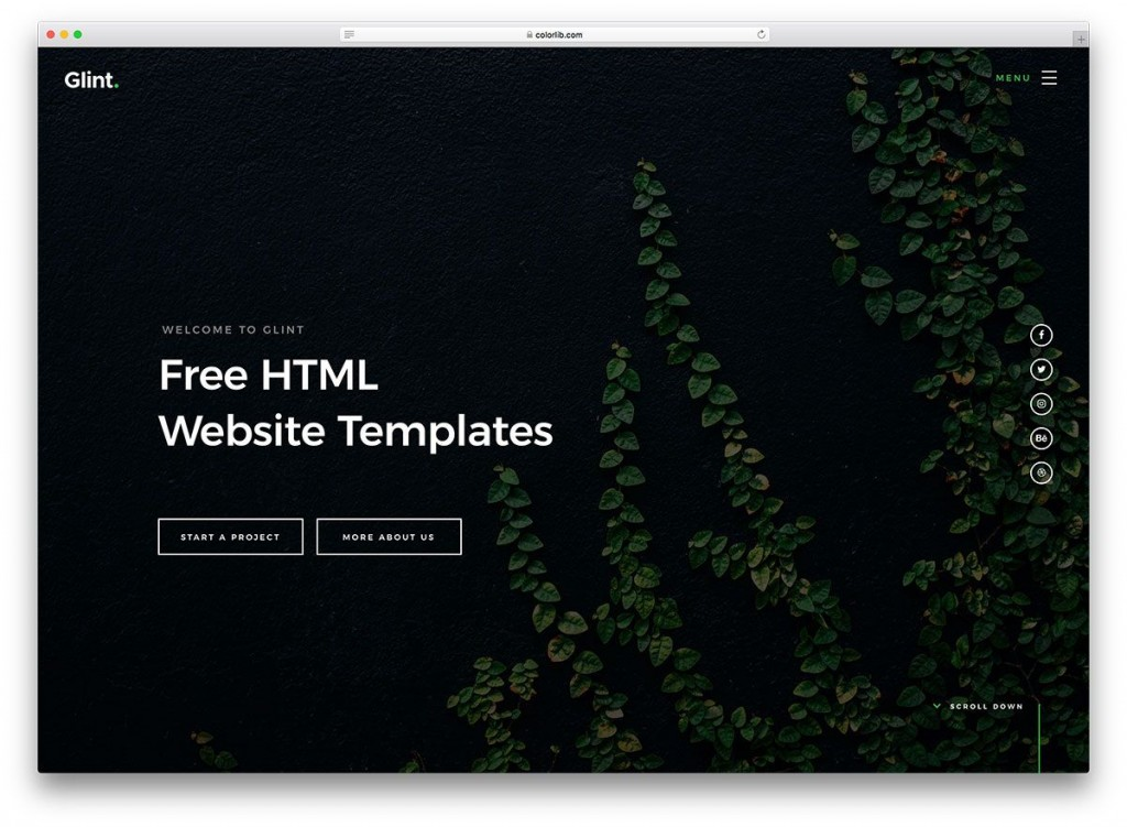 004 Surprising Website Template Html Code Free Download Image Large