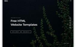 004 Surprising Website Template Html Code Free Download Image