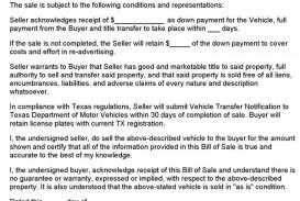 004 Top Automotive Bill Of Sale Template High Def  Vehicle Word Free Pdf