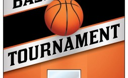 004 Top Basketball Tournament Flyer Template Highest Quality  Word Free
