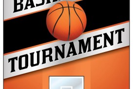 004 Top Basketball Tournament Flyer Template Highest Quality  3 On Free