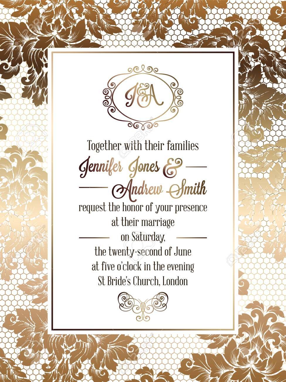 004 Top Elegant Wedding Menu Card Template Concept  TemplatesFull