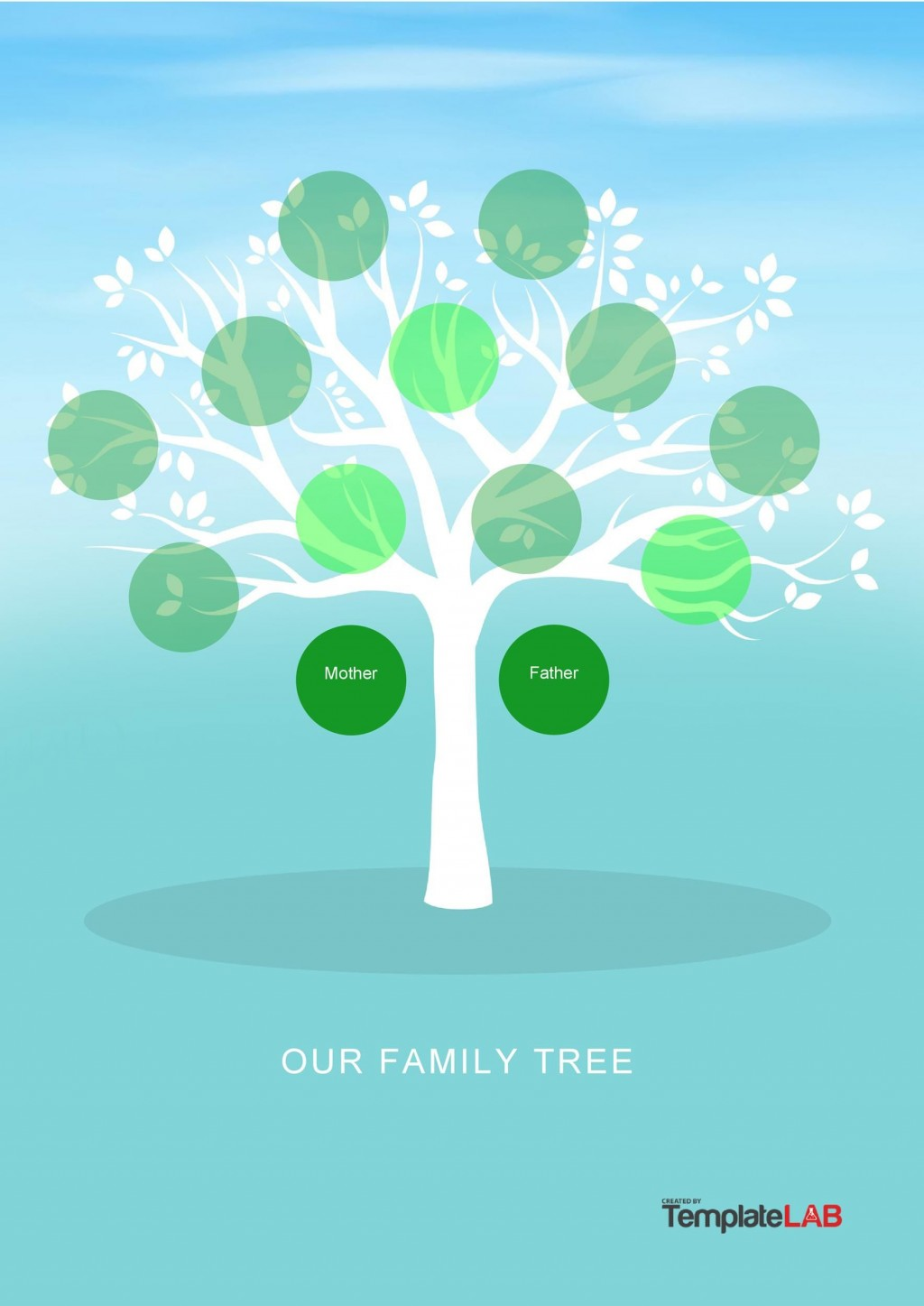 004 Top Family Tree Template Word Free Download Idea Large
