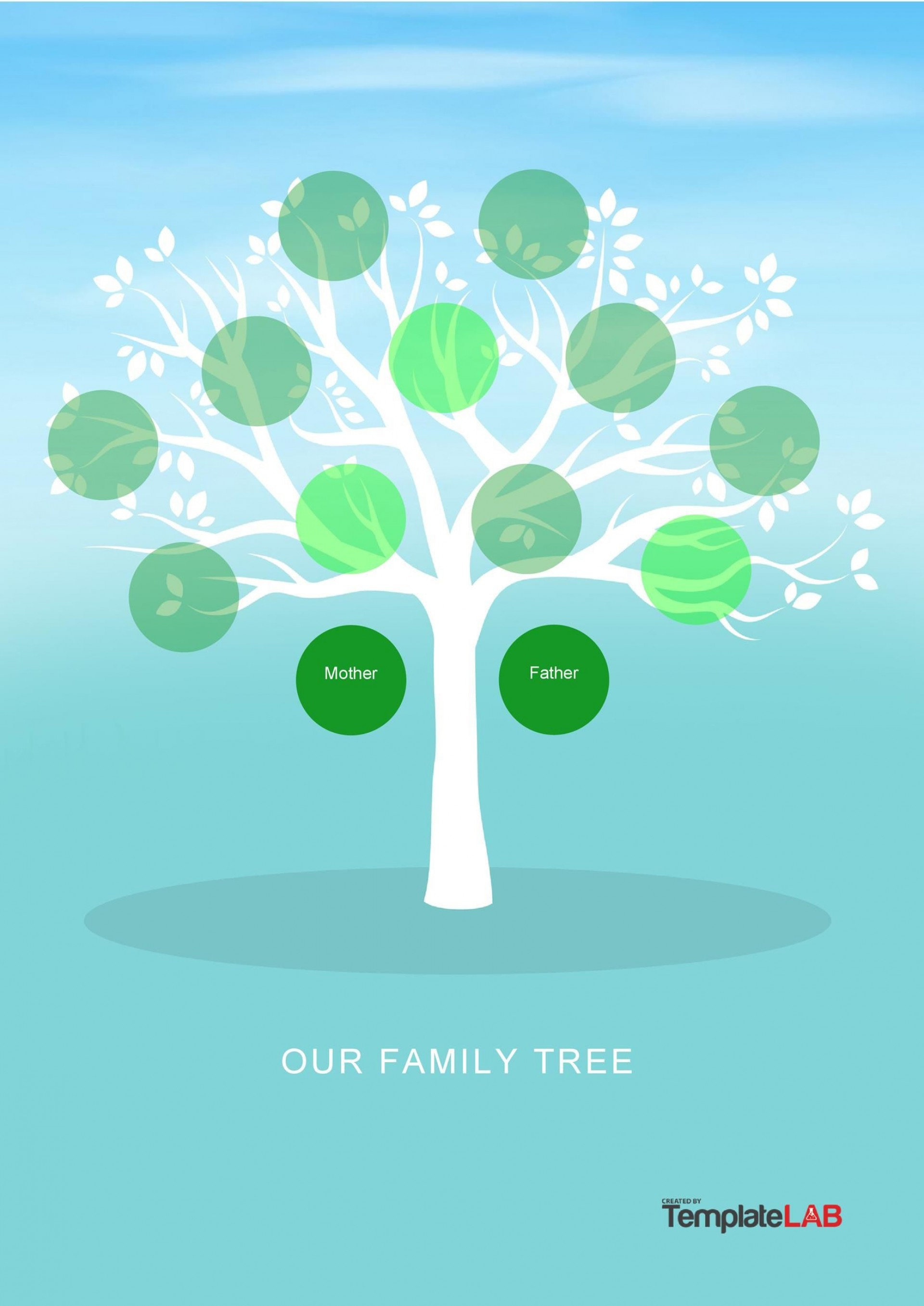 004 Top Family Tree Template Word Free Download Idea 1920