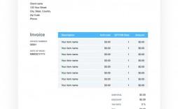 004 Top Invoice Template Google Doc Sample  Docs Blank Simple