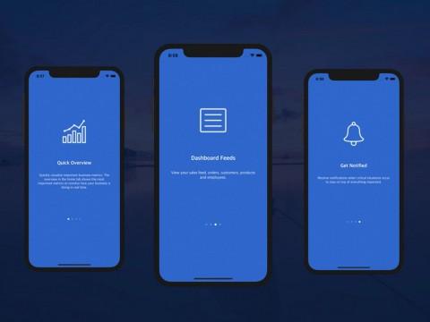 004 Top Iphone App Design Template Concept  X Io Sketch480