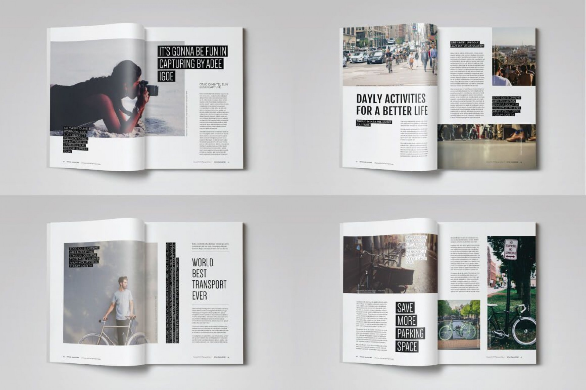 004 Top Magazine Template Free Word Image  For Microsoft Download Article1920