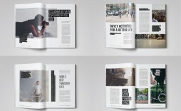 004 Top Magazine Template Free Word Image  For Microsoft Download Article