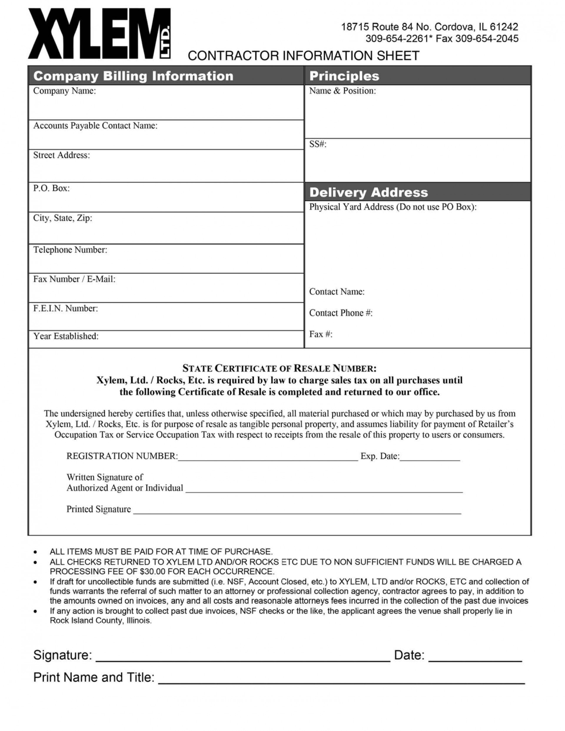 004 Top New User Setup Form Template Highest Clarity  Customer Word Account Vendor Excel1920
