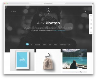004 Top Personal Website Template Bootstrap High Definition  4 Free Download Portfolio320