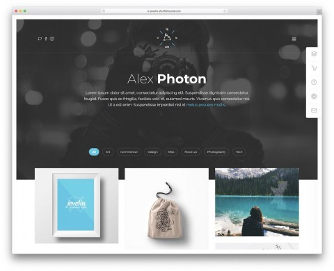 004 Top Personal Website Template Bootstrap High Definition  4 Free Download Portfolio480