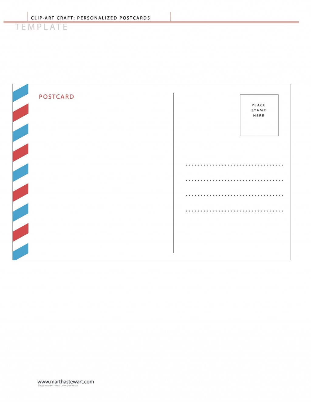 004 Top Postcard Layout For Microsoft Word Highest Quality  4 TemplateLarge