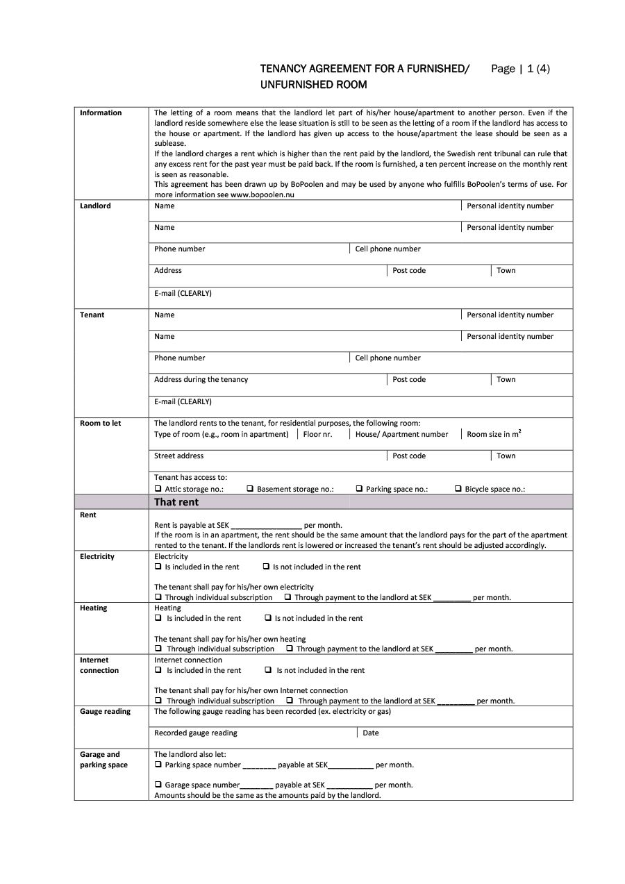004 Top Room Rental Agreement Template Uk Free High Resolution  Word DocFull