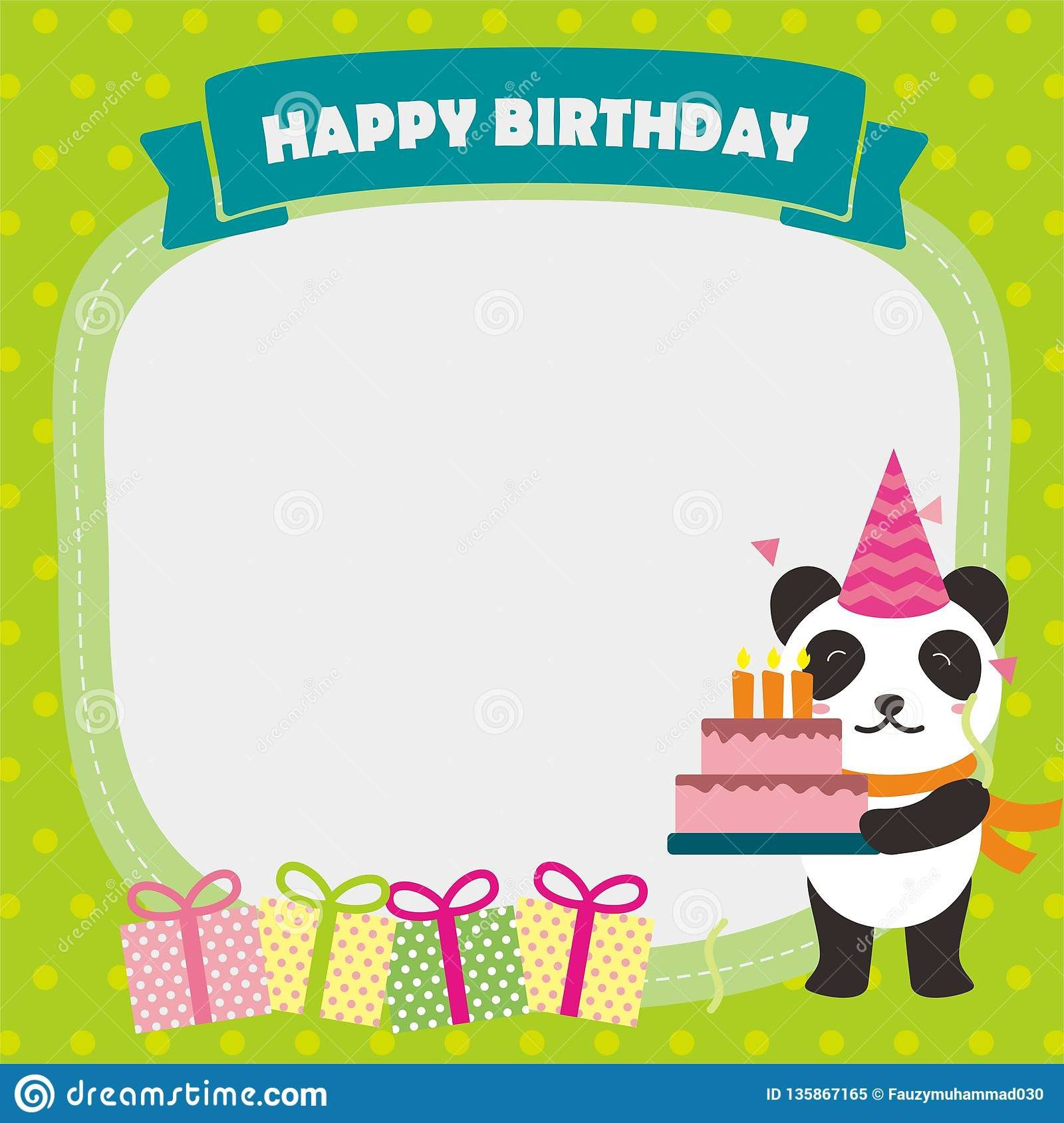 004 Top Template For Birthday Card Highest Clarity  Happy InvitationFull