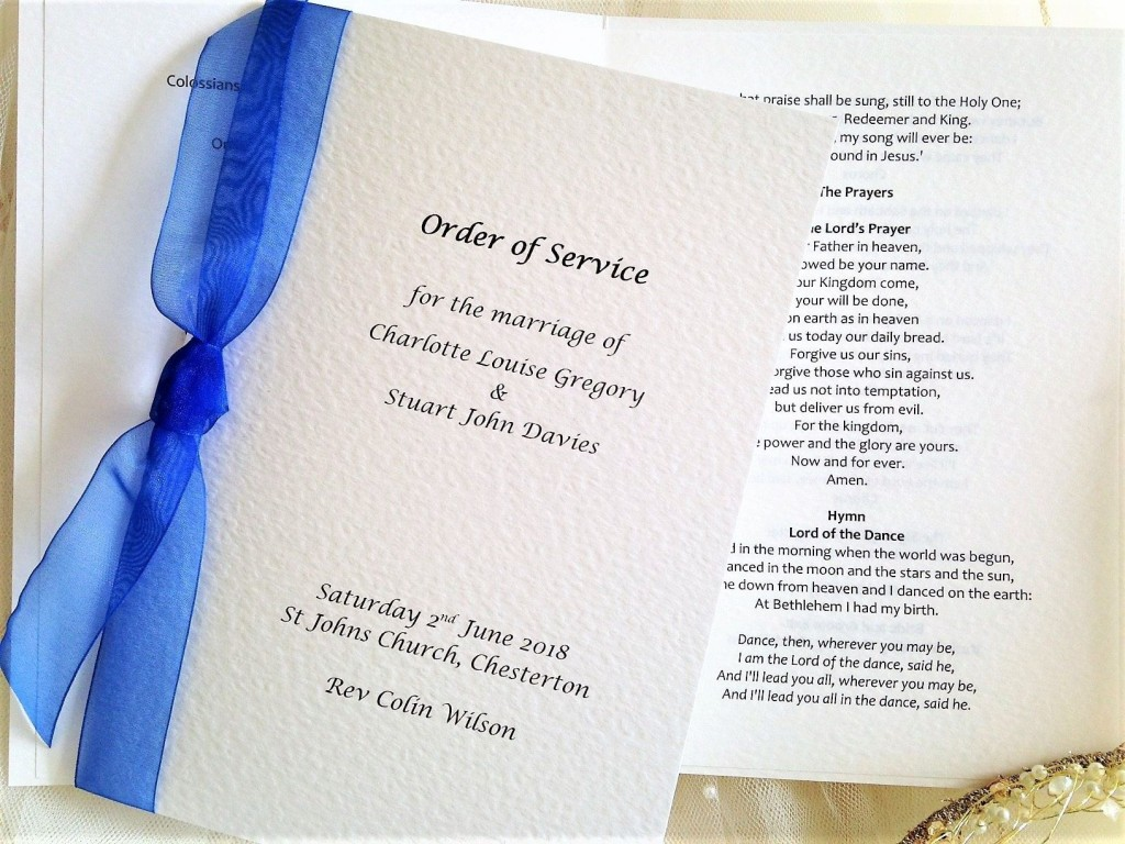 004 Top Traditional Wedding Order Of Service Template Uk High Def Large
