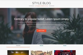 004 Unbelievable Download Free Responsive Blogger Template Concept  Newspaper - Magazine Premium