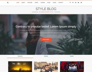 004 Unbelievable Download Free Responsive Blogger Template Concept  Newspaper - Magazine Premium320