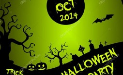 004 Unbelievable Free Halloween Party Flyer Template High Definition  Templates