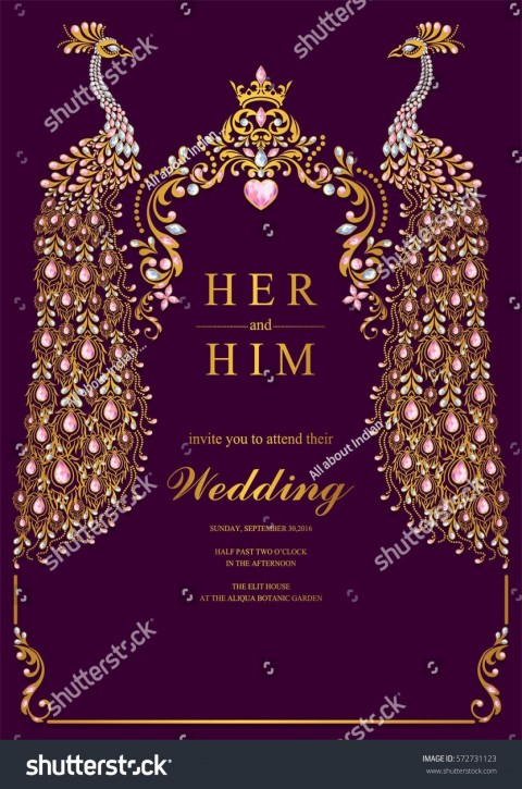 004 Unbelievable Free Online Indian Wedding Invitation Card Template Photo 480