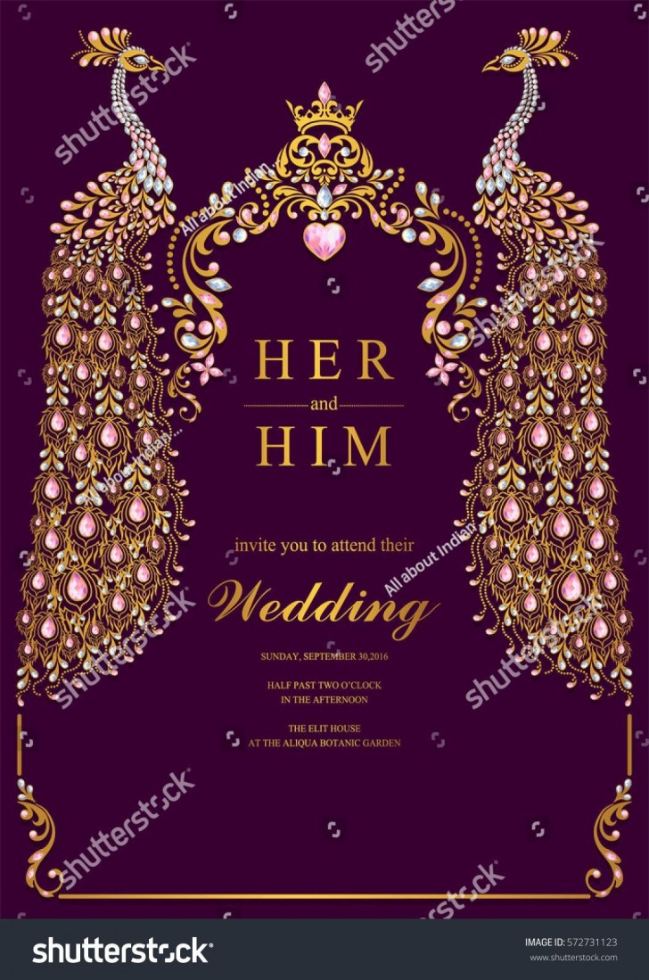004 Unbelievable Free Online Indian Wedding Invitation Card Template Photo 728