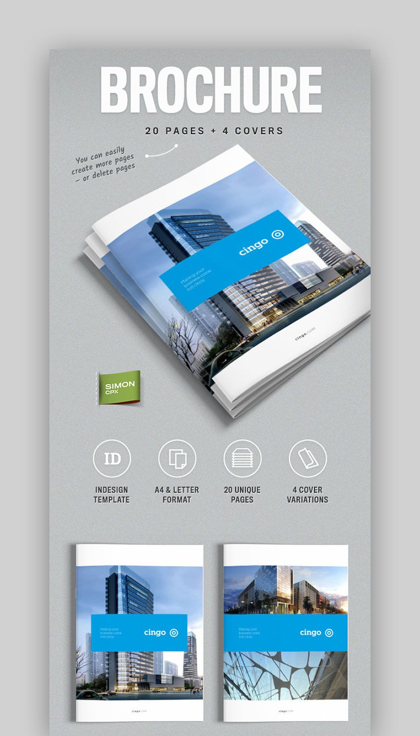 004 Unbelievable Indesign A4 Brochure Template Free Download High Resolution Full