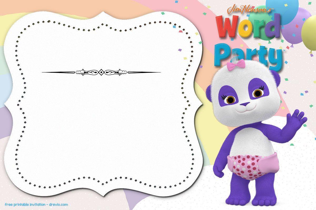 004 Unbelievable Microsoft Word Birthday Invitation Template Design  Editable 50th 60thFull