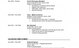004 Unbelievable Part Time Job Resume Template Example  Student Summary