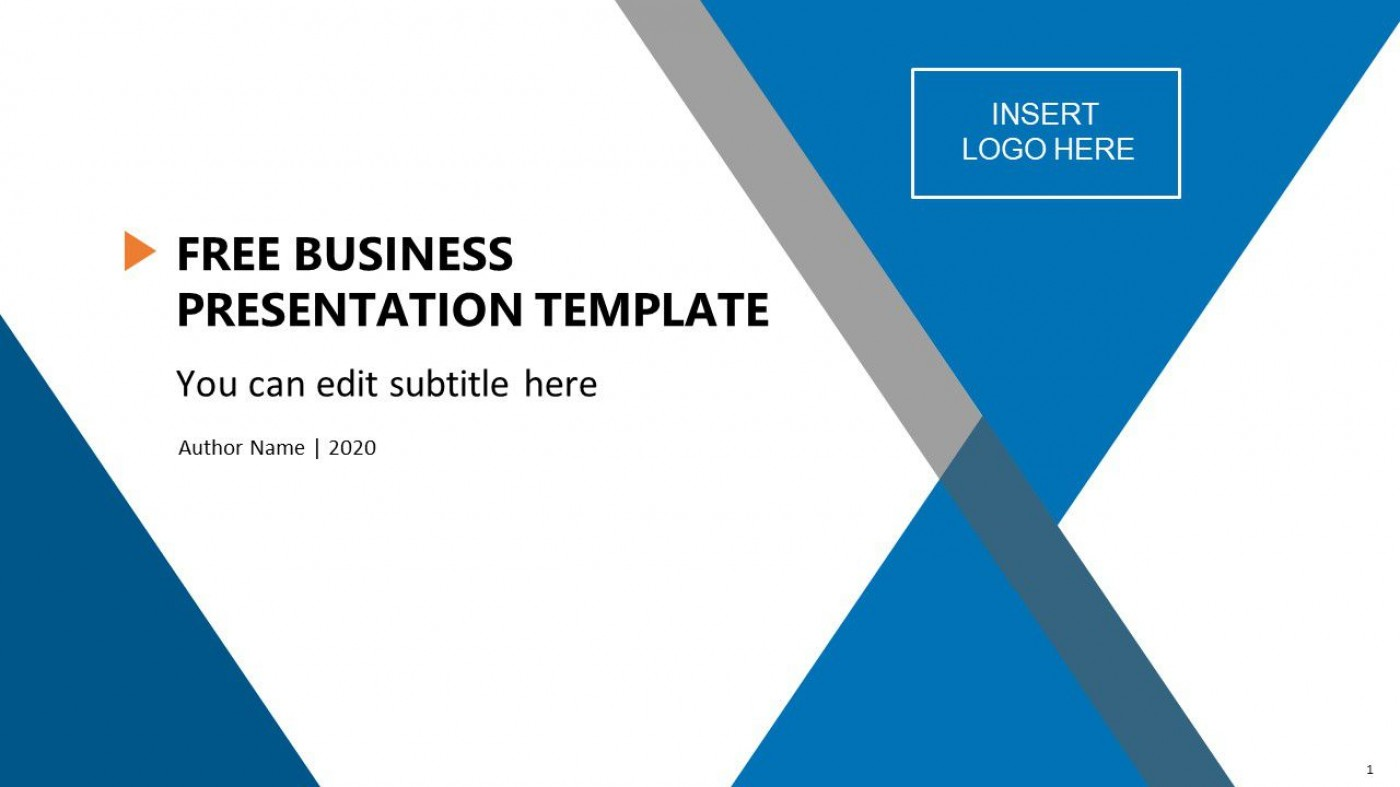 004 Unbelievable Ppt Busines Presentation Template Free Highest Clarity  Best For Download1400