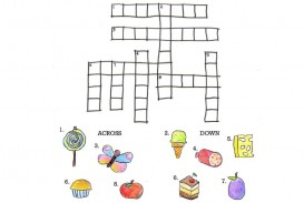 004 Unbelievable Printable Crossword Puzzle For Kid Concept