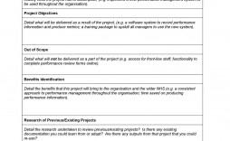 004 Unbelievable Simple Project Scope Template Design  Document Free Statement