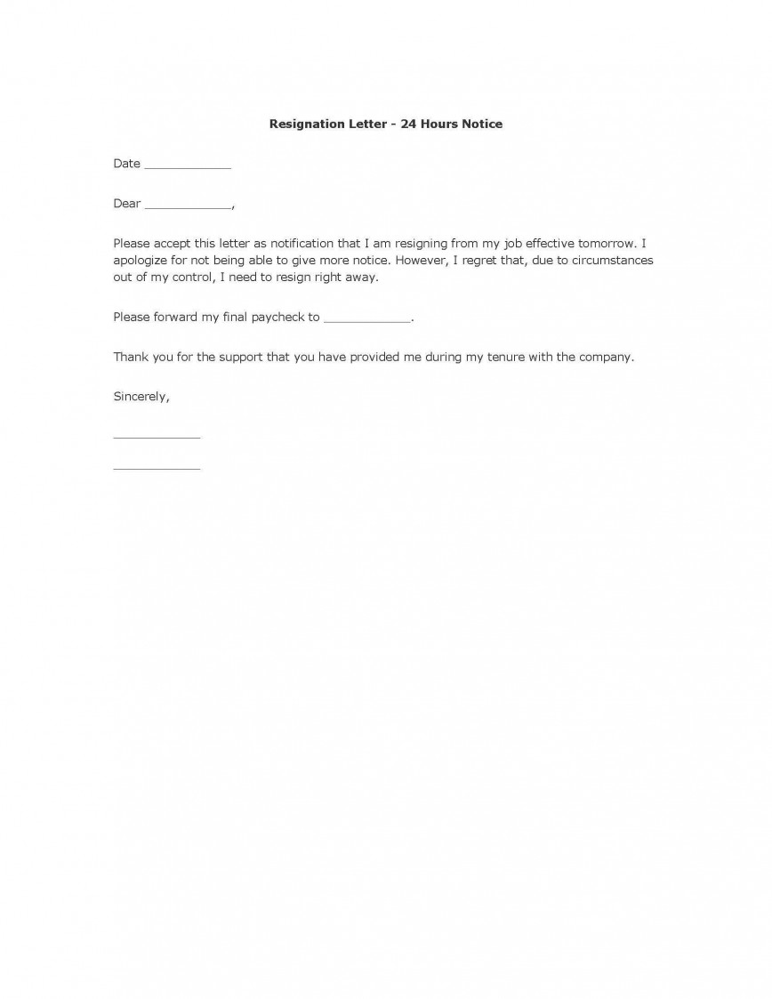 004 Unbelievable Template For Letter Of Resignation Picture  Uk From Employment Formal