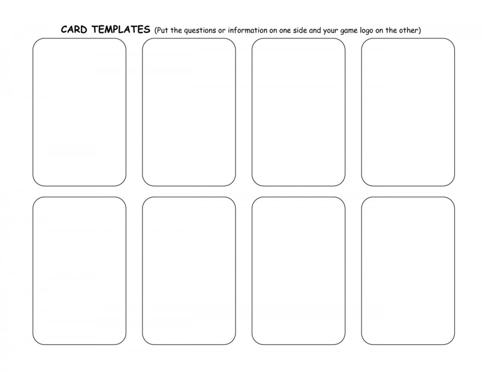 004 Unbelievable Trading Card Template Free High Def  Maker Online960