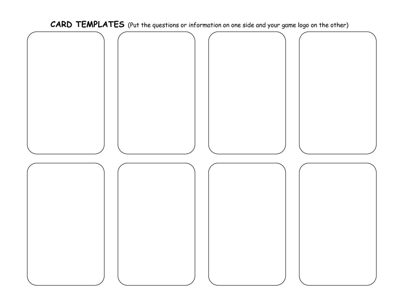 004 Unbelievable Trading Card Template Free High Def  Maker OnlineFull