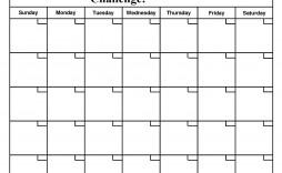 004 Unforgettable 30 Day Calendar Template Photo  Pdf Free Blank