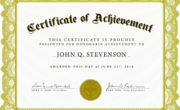 004 Unforgettable Award Certificate Template Word High Resolution  Doc Sample Wording Scholarship