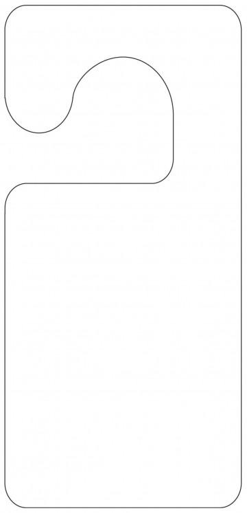 004 Unforgettable Blank Door Hanger Template Free Example 360