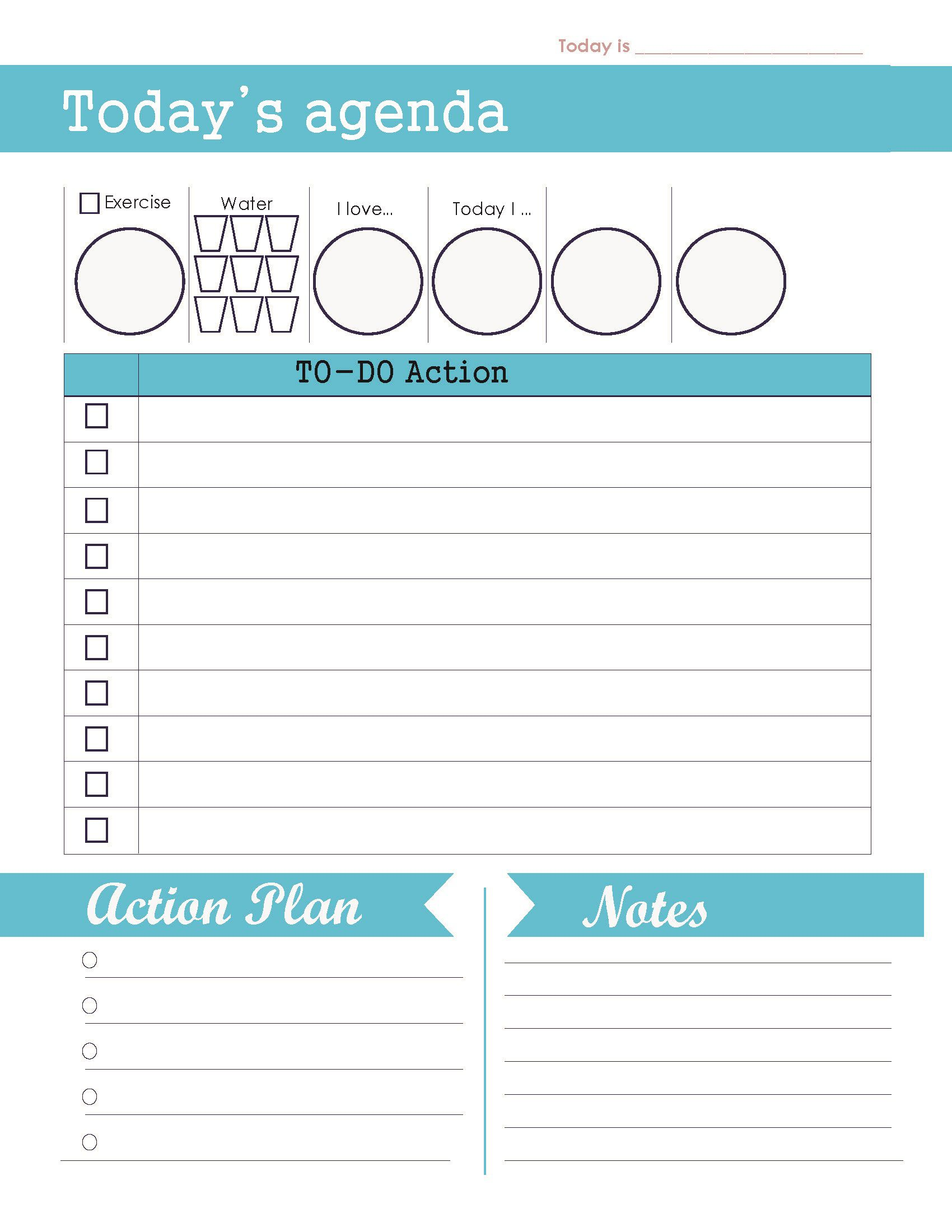 004 Unforgettable Daily To Do List Template Concept  Templates FreeFull