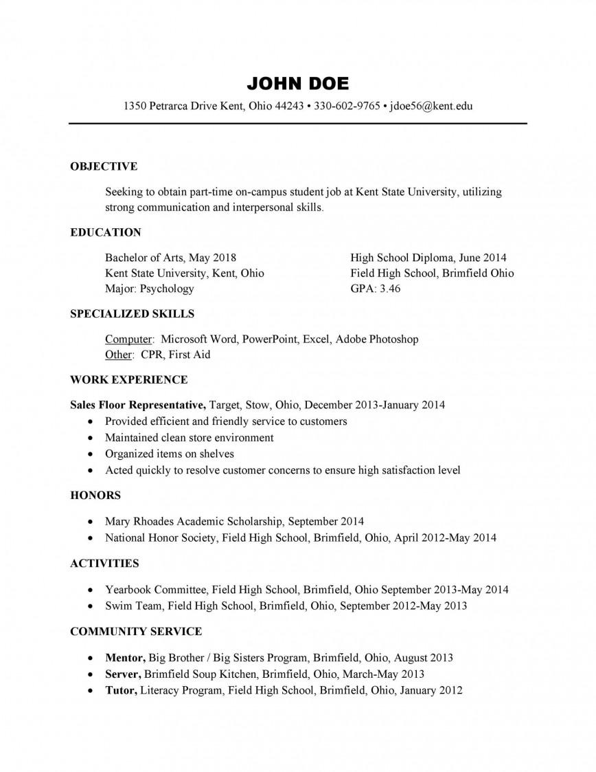 004 Unforgettable Free High School Resume Template Microsoft Word Def 868