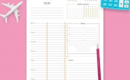 004 Unforgettable Google Doc Weekly Calendar Template 2021 Image  Free