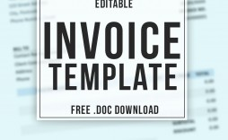 004 Unforgettable Invoice Template Uk Freelance Sample  Example Word