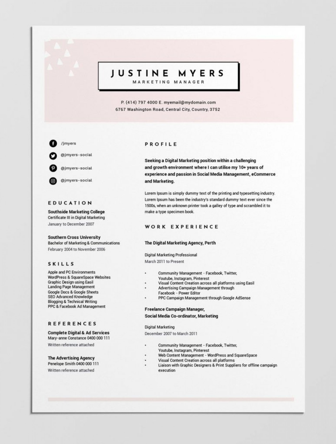 004 Unforgettable Make A Resume Template Concept  Create For Free How To Good1400