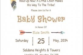 004 Unforgettable Microsoft Word Invitation Template Baby Shower Sample  M Invite Free