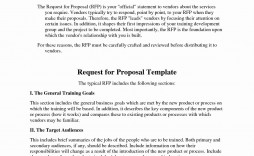 004 Unforgettable Request For Proposal Template Construction Concept  Rfp Residential