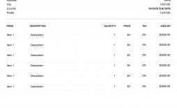 004 Unforgettable Service Invoice Template Free Concept  Auto Download Excel