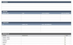 004 Unforgettable Simple Scope Of Work Template Idea  Example Sample Excel