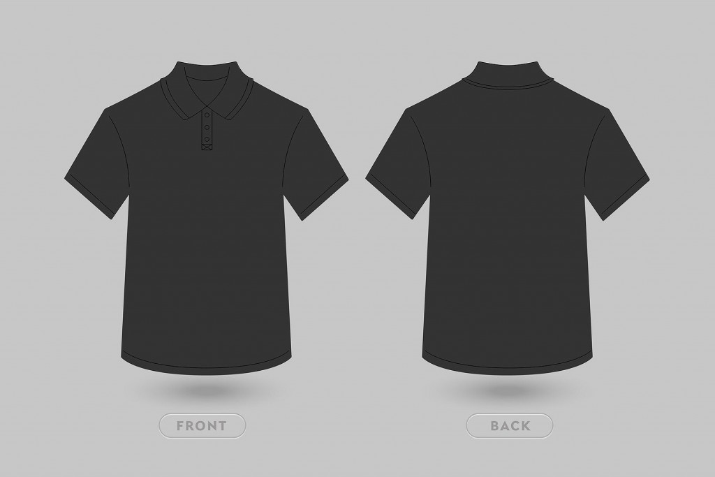 004 Unforgettable T Shirt Template Vector Design  Black Front And Back Free Download IllustratorLarge